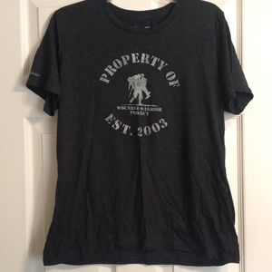 Under armour wounded warrior project t shirt
